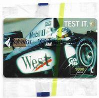 Spain - Telefónica - West Tobacco Formula 1 - CP-194 - 12.2000, 11.300ex, NSB - España