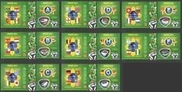 ST2919-2926 2014 GUINE GUINEA-BISSAU SPORT FOOTBALL WORLD CUP BRAZIL GROUPS 8KB+8BL MNH - Coppa Del Mondo