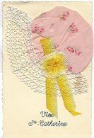 BONNET DE SAINTE CATHERINE SUPERBE - Embroidered