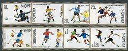 ALBANIA 1974 Football World Cup MNH / **.  Michel 1688-95 - Albania