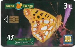 Spain - Telefonica - Fauna Iberica - Mariposa Sofia Butterfly - P-569 - 06.2005, 4.000ex, Used - España