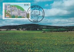 Germany Maximum Card 1995: Nature Protection; Oberlausitz -  Kaulenberg; Baumwolle - Umweltschutz Und Klima