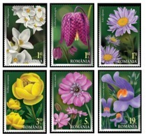 Romania 2019 / Floristic Patrimony Of Romania / Set 6 Stamps - 1948-.... Repúblicas
