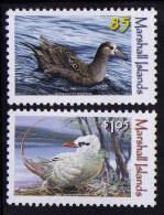 MARSHALL ISLANDS 2012  BIRDS  2V MNH - Non Classés