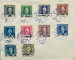 1918 , AUSTRIA - RUMANIA , YV. 18 - 27 , MAT. K.U.K. HAUPTFELDPOSTAMT - 1850-1918 Empire