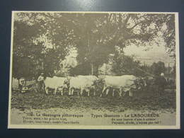 Carte Postale Publicité Aux Ducs De Gascogne Le Laboureur - Cultivation