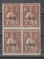AÇORES CE AFINSA  298 - QUADRA NOVA - Azores