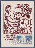 = Carte Postale Bol D'air Des Gamins De Paris Et Sa Banlieue Paris 5 DEC 1965 N°1464 - Bolli Commemorativi