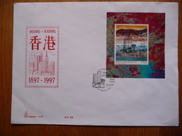 (2) SAN MARINO BIG FDC 1997 SAN MARINO HONG KONG SEE SCAN - FDC