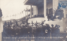 Cartolina -  Torino, Stadio. - Stadiums & Sporting Infrastructures