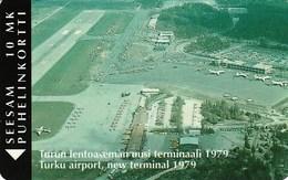 FINLAND / Turku Airport P13b 1500 Ex. Mint - Finlande