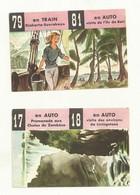 CHOCOLAT MENIER  LE TOUR DU MONDE EN 120 IMAGES  17/18  79/81 - Menier