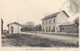 45 /  Saint Denis De L'Hotel : La Gare        ///   DEC. 19 ///   REF. BO.45 - France