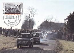 Germany Maximum Card 1994: Unite Germany: 5 Anniversary; Ulitz By Hof Plauen; Cars Oltimers - History