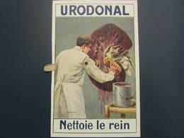 Carte Postale à Système Publicité URODONAL - Advertising