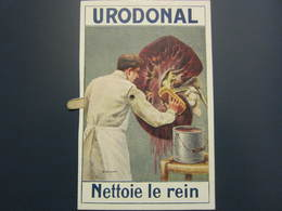 Carte Postale à Système Publicité URODONAL - Werbepostkarten