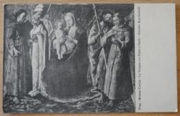 Pisa Museo Civico L Vergine Col Figlio E Santi Zenobio Macchiavelli - Gemälde, Glasmalereien & Statuen