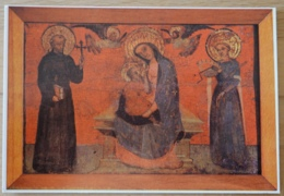 Trogir Blaz Jurjev Trogiranin Madonna Maria Franz Katharina - Gemälde, Glasmalereien & Statuen