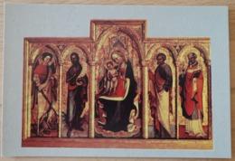 Korcula Opatska Riznica Poliptih Blaza Jurjeva Trogiranina - Gemälde, Glasmalereien & Statuen