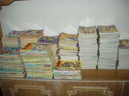 GREEK COMICS: ΜΟΝΑΔΙΚΗ ΠΡΟΣΦΟΡΑ 1000 ΔΙΑΦΟΡΕΤΙΚΑ ΤΕΥΧΗ ΜΙΚΥ ΜΑΟΥΣ, OI ΦΩΤΟΓΡΑΦΙEΣ ΕΝΔΕΙΚΤΙΚΕΣ - Books, Magazines, Comics