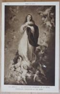 Murillo La Conception Immaculee De La Vierge Immaculate Conception Of The Virgin Musée Du Louvre - Jesus