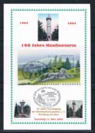 Gedenkblatt BRD/Bund 2004 100 Jahre Knollenturm - Herzberg Im Harz - [7] República Federal