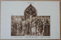 Ecole Francaise Jesus Christ Sur La Croix Christ On The Cross Musée Du Louvre - Gemälde, Glasmalereien & Statuen