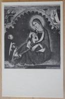 Basilica Di S. Domenico Maggiore Napoli La Madonna Della Rosa Di Simone Martini Di Siena - Gemälde, Glasmalereien & Statuen