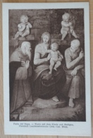Perin Del Vaga Maria Mit Dem Kinde Und Heiligen Fürstlich Liechtensteinsche Gemälde Galerie Wien Vienna - Gemälde, Glasmalereien & Statuen