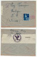 Allemagne // III Reich // Lettre Censurée Pour La Suisse - Allemagne