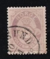 1884 Freimarke Mi NO 42 Sn NO 45 Yt NO 44 Sg NO 88  AFA NO 40  Gestempelt Siehe Scan - Gebraucht