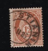 1884 Freimarke Mi NO 39b Sn NO 42 Yt NO 41 AFA NO 41b Gestempelt Siehe Scan - Gebraucht
