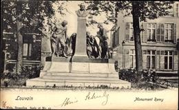 Cp Louvain Leuven Flämisch Brabant, Monument Remy, Denkmal - Autres