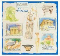 Carte Pré-timbrée Athènes, Capitales Européennes, Neuve, Réservé Aux Membres Du Club Philaposte, Année 2019 - Prêts-à-poster:  Autres (1995-...)