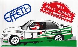 "Sport - Motorsport -  Schio (VI)  1991 - Rally Asiago Trofeo ""Bergoline"" - - Rally"