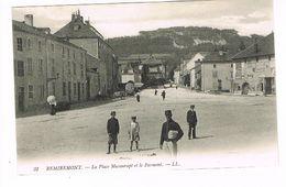 CPA (88) Remiremont. La Place Maxonrupt Et Le Parmont.   (M.367). - Remiremont