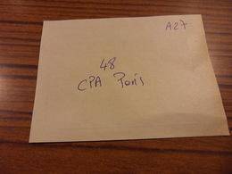 LOT A27-48 CPA PARIS- Port Compris Pour France-Tous Les Scans Disponibles - Cartes Postales