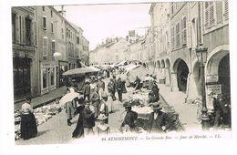 CPA (88) Remiremont. La Grande Rue.Jour De Marché.  (M.364). - Remiremont