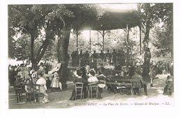 CPA (88) Remiremont.La Place Du Tertre Kiosque De Musique.  (M.362). - Remiremont