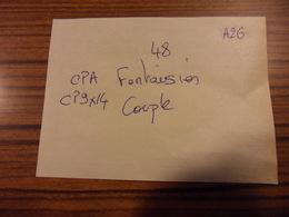 LOT A26-48 CPA/CP 9*14 FANTAISIES COUPLES - Port Compris Pour France-Tous Les Scans Disponibles - 5 - 99 Postkaarten