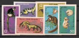North Vietnam - 1965 - N°Yv. 427 à 432 - Animaux Sauvages - Non Dentelé / Imperf. - Neuf Luxe ** / MNH / Postfrisch - Vietnam