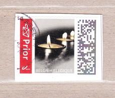 2019 Nr 4830 Prior Rouwzegel Gestempeld Op Fragment. - Bélgica