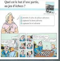 "FICHE ARTS, SPORTS, LOISIRS  N° 46  "" TINTIN  ""  ( Déssin: HERGE )      L'OREILLE CASSEE  - 15X15 - Hergé"