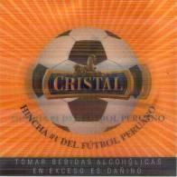 Lote P47, Peru, Posavaso, Cristal Tridimensional, Coaster - Portavasos