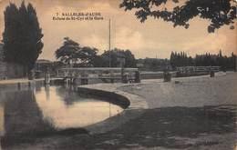 CPA SALLELES-d'AUDE - Ecluse De St-Cyr Et La Gare - Salleles D'Aude