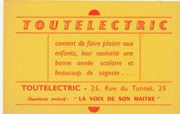 BU 1781 /   BUVARD    -   TOUTELECTRIC - Electricité & Gaz