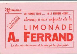 BU 1809  /   BUVARD     - LIMONADE A. FERRAND - Softdrinks