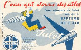 BU 1810  /   BUVARD     -   L'EAU MINERALE DU SALET - Limonades