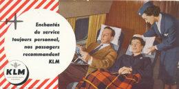 BU 1817  /   BUVARD     - K  L  M   LIGNES AERIENNES ROYALES - Transports