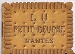 CALENDRIER 1956 LU PETIT BEURRE NANTES - Advertising
